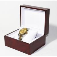Best Classic Jewelry Wooden Box With White Leather Pillow  , Wooden Watch Box wholesale
