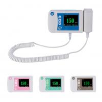 Best Three color available digital fetal doppler ultrasound equipment baby heart rate monitor wholesale