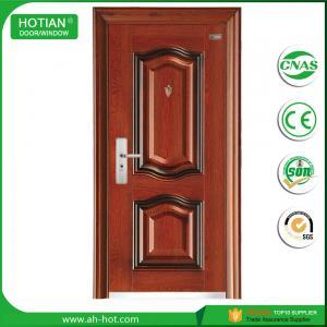 Cheap 2016 New Models Steel Security Door Main Entrance Door Popular for Apartment, for sale