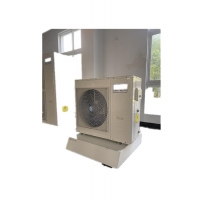 China DHW Electric Air Source Inverter Heat Pump For Swimming Pool Dehumidified 220KW on sale