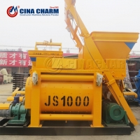 China js1000 building construction tools and equipment concrete mixer on sale
