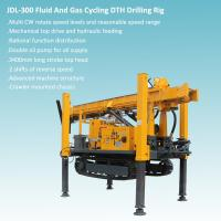 Best Crawler Mounted Mechanical Top Head And hydraulic Feeding DTH Drilling Rig wholesale