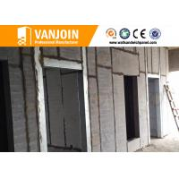 Light weight EPS Cement Sandwich Panel / concrete wall board For Prefab House
