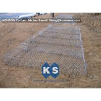 Best Eco-friendly Flexible Gabion Box And Gabion Mattress Protecting Falling Rocks wholesale