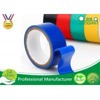 Best Blue PVC Waterproof Insulation Tape Electrical , High Voltage Electrical Tape Heat Resistant wholesale