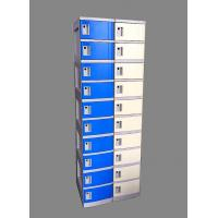 Best 10 Tier Blue Mobile Phone Lockers Corrosion Proof With Clover Keyless Lock wholesale