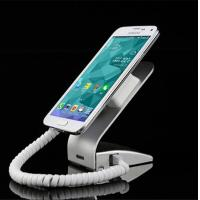 Best COMER Classic style retailer security cable lock device phone retail stand with alarm sensor cables wholesale