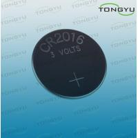 China 3 Volt Lithium Coin Cell Battery CR2016 Li-MnO2 Button Battery With Blister Card on sale