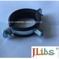 Quality M8 M10 20mm Width combi nut clamp with EPDM rubber Cast Iron Pipe Clamp wholesale