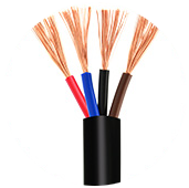 H05VV-F Flexible cable 4 core