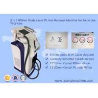 Best Pain Free 808nm Diode Laser Hair Removal Machine Stationary Style 2000W wholesale