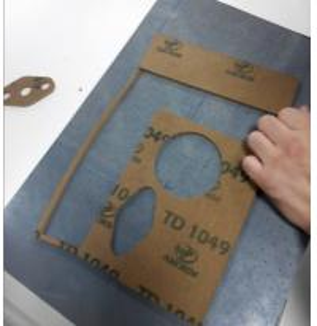 China Sealing Sheet CNC Gasket Cutter / Cutting Equipment CNC Making Machine on sale