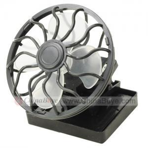 Best New Design Solar Mini Fan with LED Light wholesale