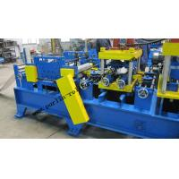 Best 20 KW Steel Frame C Purlin Roll Forming Machine For C / Z / U Shape Purlins wholesale