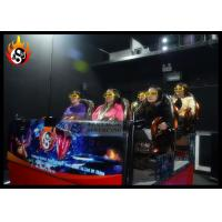 Cheap Dynamic 4D Cinema System with Hydraulic 4D Motion Simulator for sale