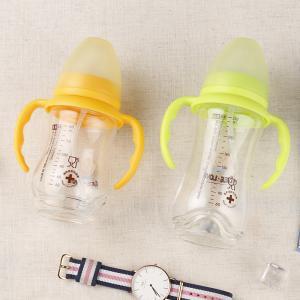 Best Unbreakable Cute Anti Colic Baby Bottles , 180ml Glass Nursing Bottles Bpa Free wholesale