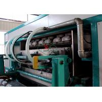 Buy cheap 8 Faces Rotary Pulp Molded Egg Tray Machine Paper Tray Production Line from wholesalers