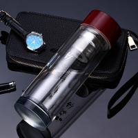 Best Portable Drinking Water Bottle Glass , Insulated Water Bottle For Hot And Cold wholesale