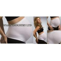 Best Seamless Pregnancy Maternity Belly Bands , Nylon Spandex Maternity Corset Belt wholesale