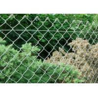 Best Outdoor Galvanized Chain Link Fence ISO9001 Galvanized Steel Chain Link Fence wholesale