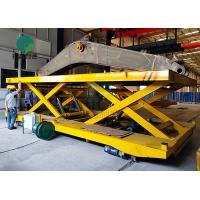Best Explosion-Proof Automatically Guided Transport Cable Reel Powered Transfer Cart On Rails For Steel Parts Handling wholesale