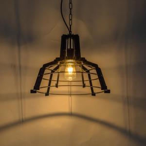 Cheap Black Metal Vintage Set Bar Industrial Pendant Lamp for sale