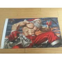 Best 3x5FT Decorative 100D Advertising Banners And Flags For New Year / Merry Christmas wholesale