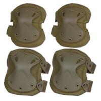 Quality Tactical Combat Molle Gear Accessories Knee Protection Pads , High Safe Knee Pad wholesale