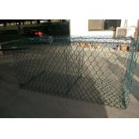 Best PVC Coated Galvanized Gabion Wire Mesh 2 X 1 X 1m Fit Rivers Control wholesale