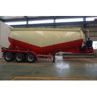 TITAN vehicle 3 axle Bulk cement trailer with diesel engine air compressors for sale