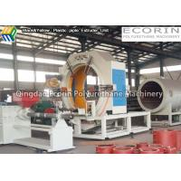 PE Insulated Plastic Pipe Extruder Machine With Air Sealing Electrical Control