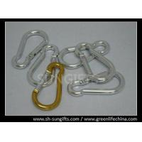 Best Silver color promotional carabiner key chain wholesale