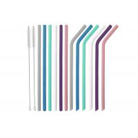 Best Silicone Straws for  Tumblers Reusable Silicone Drinking Straws BPA Free wholesale