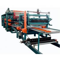 Best Double Belt PU Sandwich Panel Making Machine Automatic For Roof Wall Panel wholesale