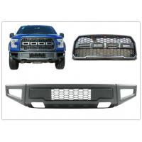 Best Ford F150 2015 2017 Raptor Style Steel Front Bumper Bar and Front Grille wholesale