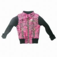 Best Kid's PU Jacket, OEM Orders are Welcome, Fashionable Style wholesale
