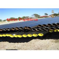 Best CSN EN 10208 Spiral Welded Steel Pipe , Class A Combustible Liquid Gas Line Pipe wholesale