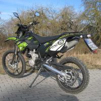 Quality Shineray 250 cc Supermoto of dirt bike with 12kw power and 80km/h max speed wholesale