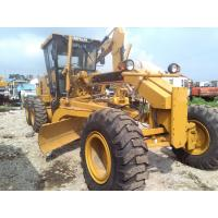 Quality Caterpillar 140H Used Motor Grader new painting 185hp CAT 140 wholesale
