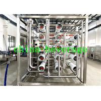 Cheap Commercial Reverse Osmosis Water Purification System , Drinking Water Treatment Machine for sale