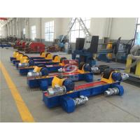 Quality PU Roller Welding Rotator 10T Conventional Bolt Tank Turning Roll wholesale