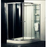 Cheap Custom Glass Door Shower Enclosures , Space Saving Bathroom Shower Cabinets for sale