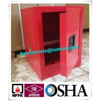 Best Flame Proof 4 Gallon Paint Storage Cabinets For Corrosive Combustible Liquid wholesale