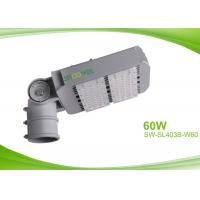 China Waterproof IP65 60w LED Street Lamp for Vertical / Horizontal Poles , LED Sidewalk Lighting on sale