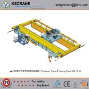Best Factory Direct Sale 32/5t Double Girder Long Travelling Overhead Crane wholesale