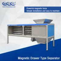 Best Energy Saving Powder Magnetic Separator Machine With Vibrator 380VAC Input wholesale