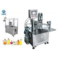 Best High Performance Nail Polish Making Machine 2.5kw Power With Servo Capper wholesale
