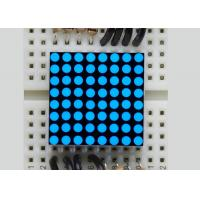 China China wholesales electronic components Super Blue 8*8 5mm Mini LED Dot Matrix Outdoor Display on sale
