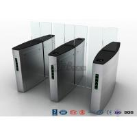 Best Stainless Steel Access Control Turnstiles , Sliding Turnstile Security Systems wholesale