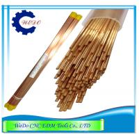 Quality 1.0x400mmL Double Hole EDM Eletrode Pipe / Copper Tube For EDM Drill Machine wholesale